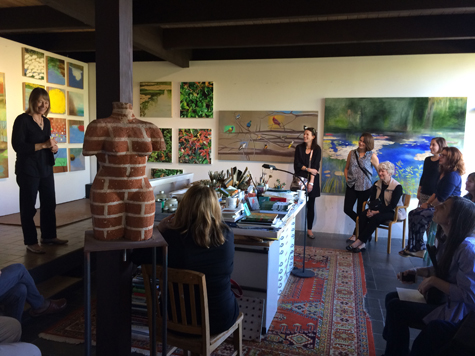 Q&A with Astrid Preston in her studio, 2015