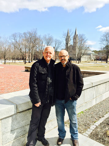 Craig Krull and Mark Wethli, Bowdoin College