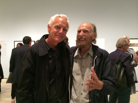 Craig Krull and George Herms, LACMA, 2015
