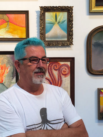 David Lloyd at VOLCANO opening, 2015