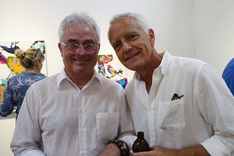 Joe Fay and Craig Krull, photo by Marlene Picard, 2015