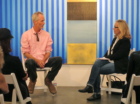 Hunter Drohojowska-Philp Q&A with Ned Evans at Craig Krull Gallery