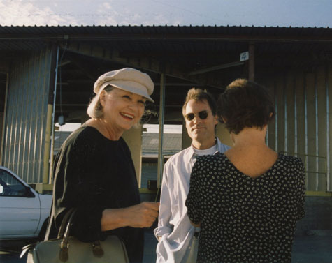 Patricia Faure and Burnett Miller at Bergamot Station, 1994