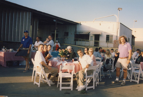 Bergamot Station barbeque, 1994