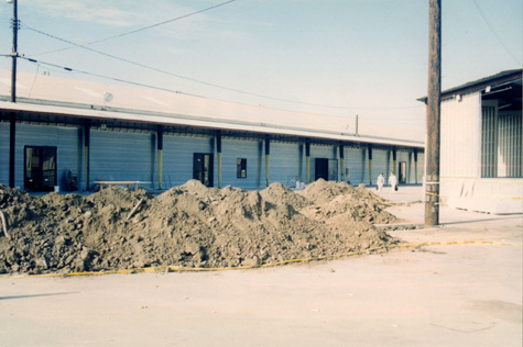 Bergamot Station construction, 1994