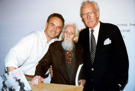 Craig Krull with Edmund Teske and William Claxton, 1996