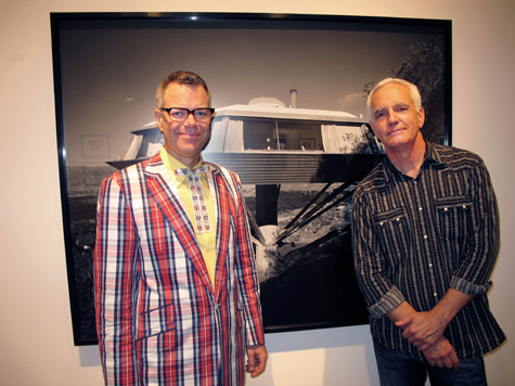 Charles Phoenix and Craig Krull at Julius Shulman: 80 Years of Photography at Craig Krull Gallery