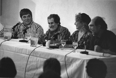 Chris Burden, Allan Kaprow, Carolee Schneeman, and Paul McCarthy at the Turner Krull Gallery, 1993