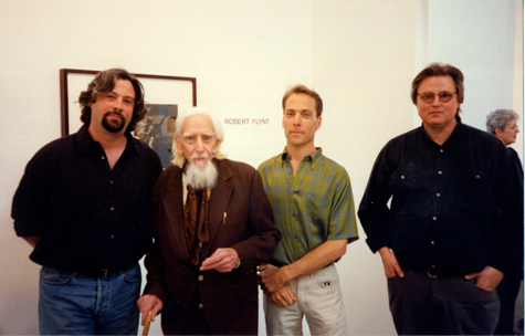 John Huggins, Edmund Teske, Robert Flynt, and James Fee at Craig Krull Gallery