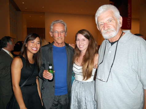 Vicki Phung Smith, Ed Ruscha, Kelly Prather, and Jerry McMillan