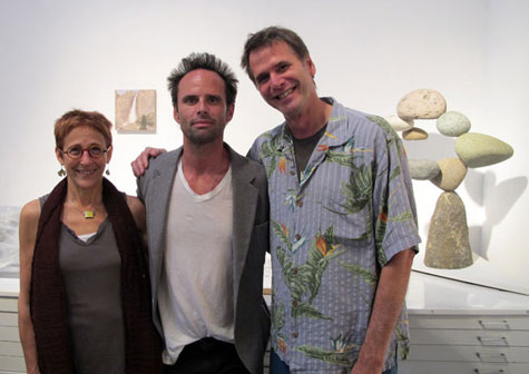 Wendy Burton, Walton Goggins, and Jeff Brouws